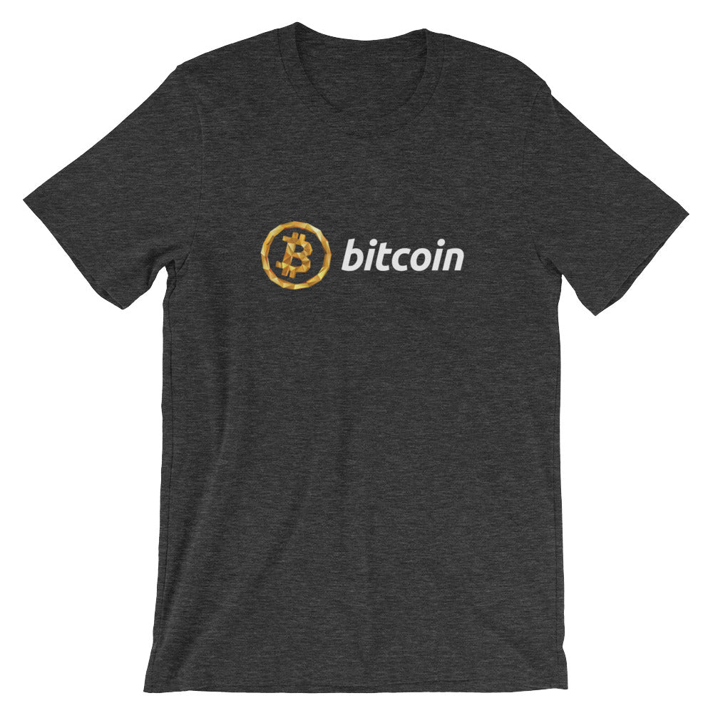 Bitcoin 3D low-Poly T-Shirt - CryptoShirt.io