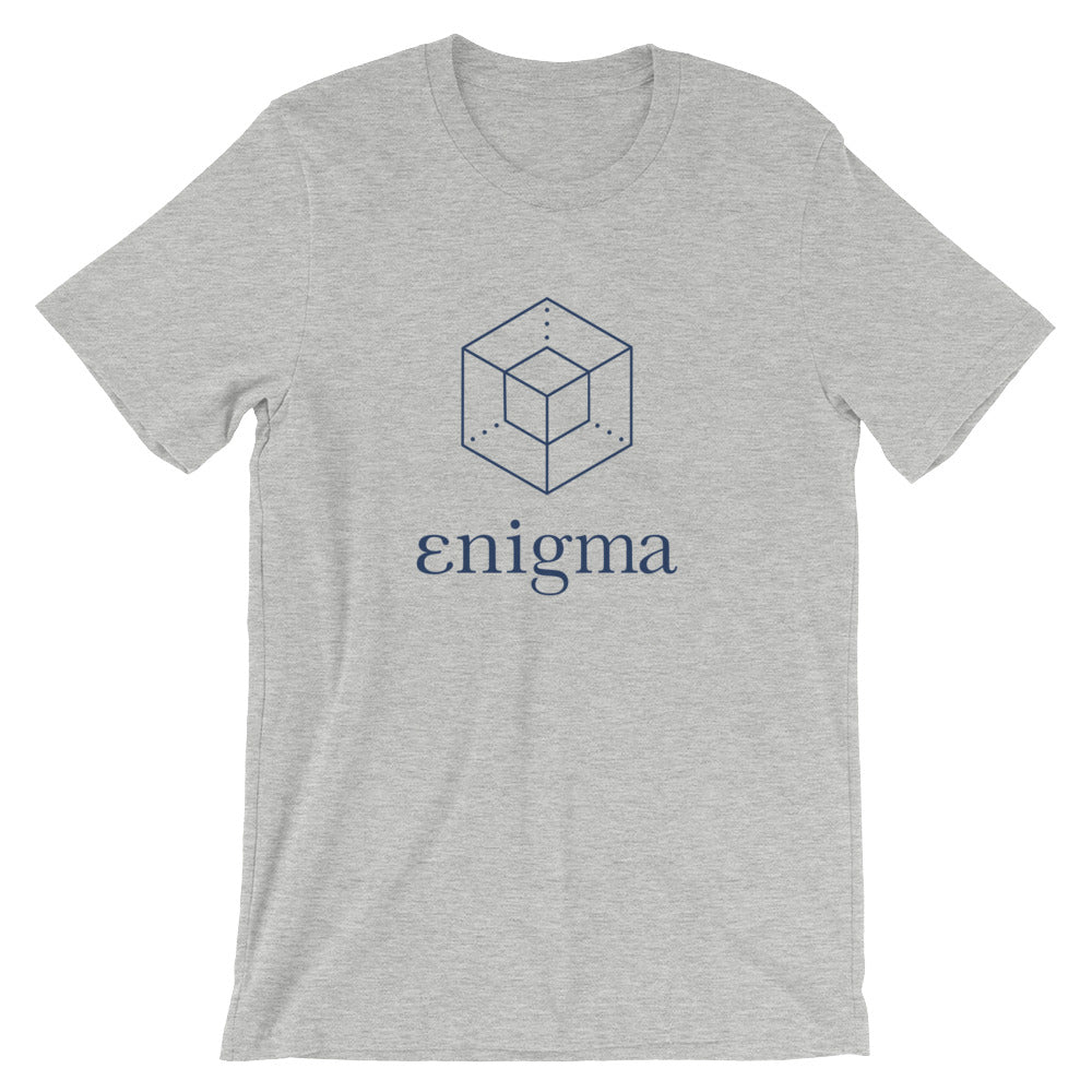 Enigma T-Shirt | Color logo - CryptoShirt.io