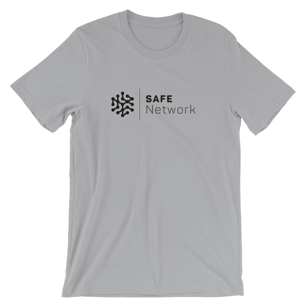 Safe Network T-Shirt | Black logo - CryptoShirt.io