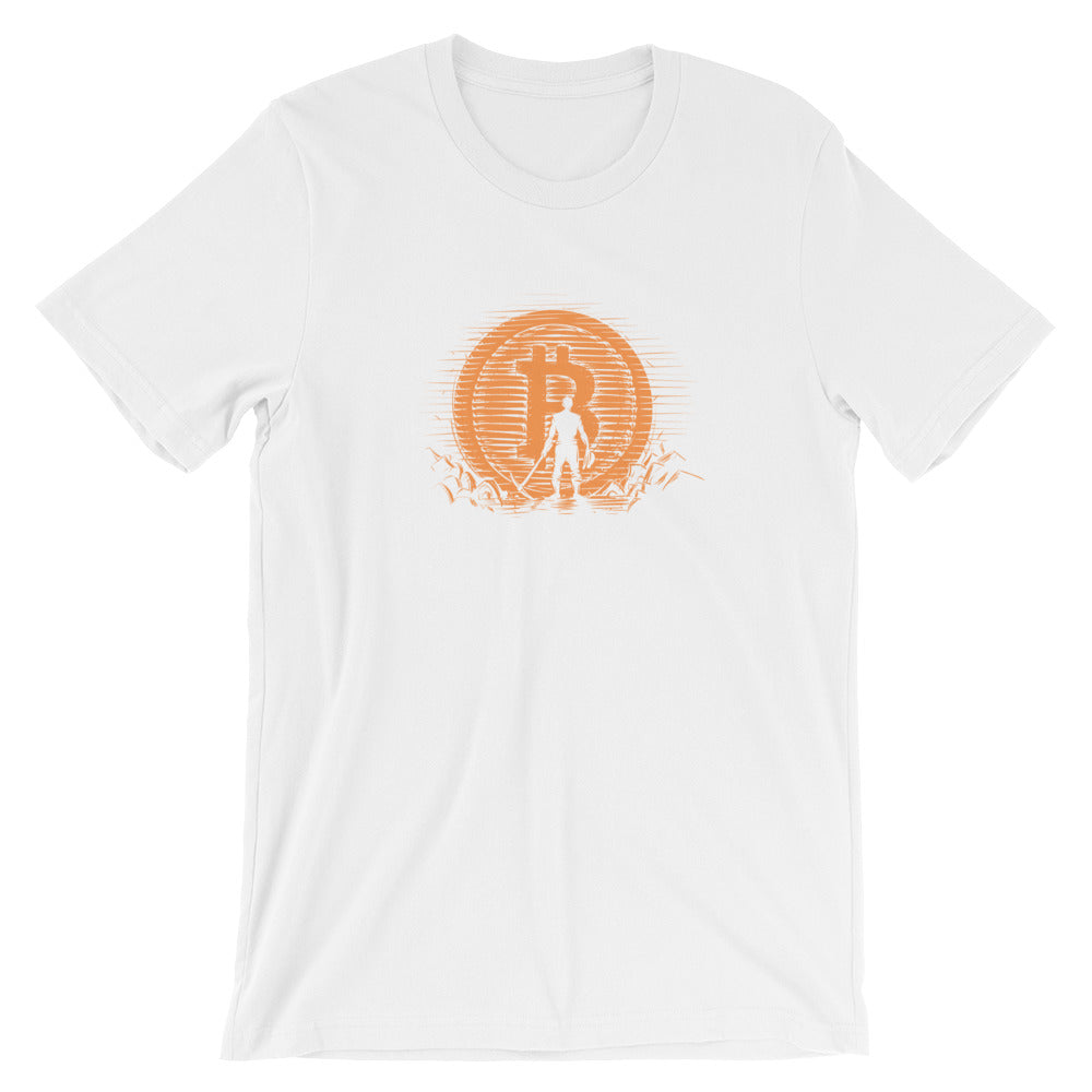Bitcoin miner reward T-Shirt - CryptoShirt.io