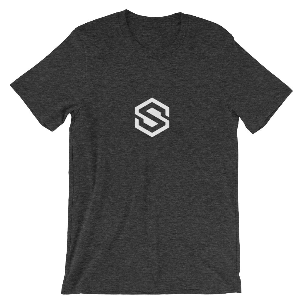 Safecoin T-shirt | White logo - CryptoShirt.io