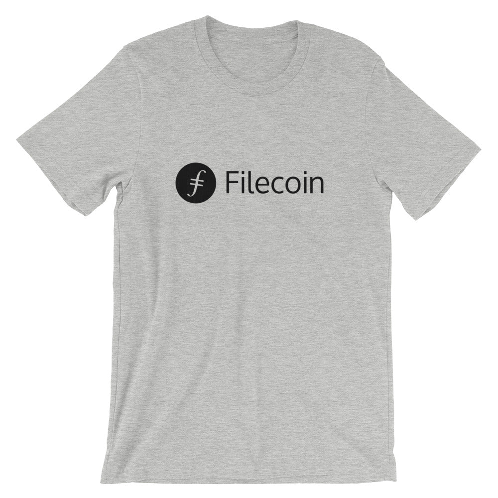 Filecoin T-Shirt | Black logo - CryptoShirt.io
