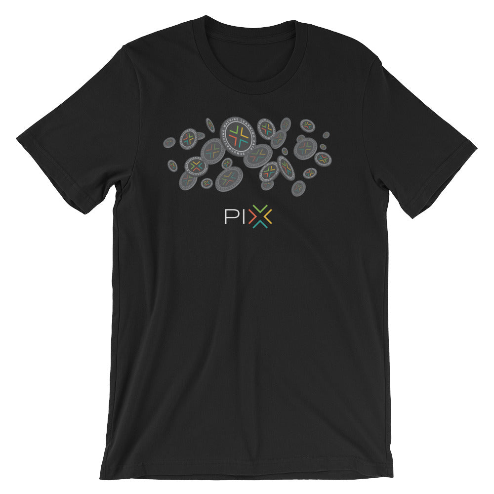 PIX T-Shirt | Color logo (light) - CryptoShirt.io