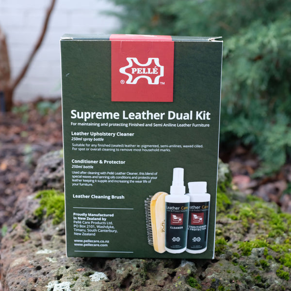 Pelle Leather Care Dual Kit