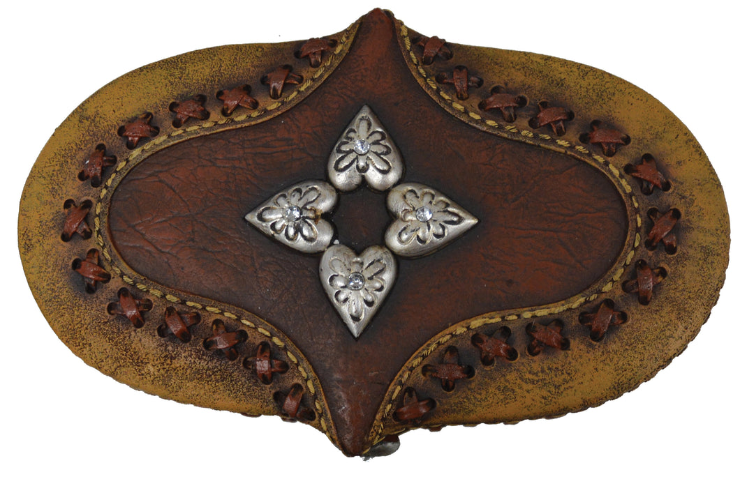 Oval Hearts Jewellery Box - Large