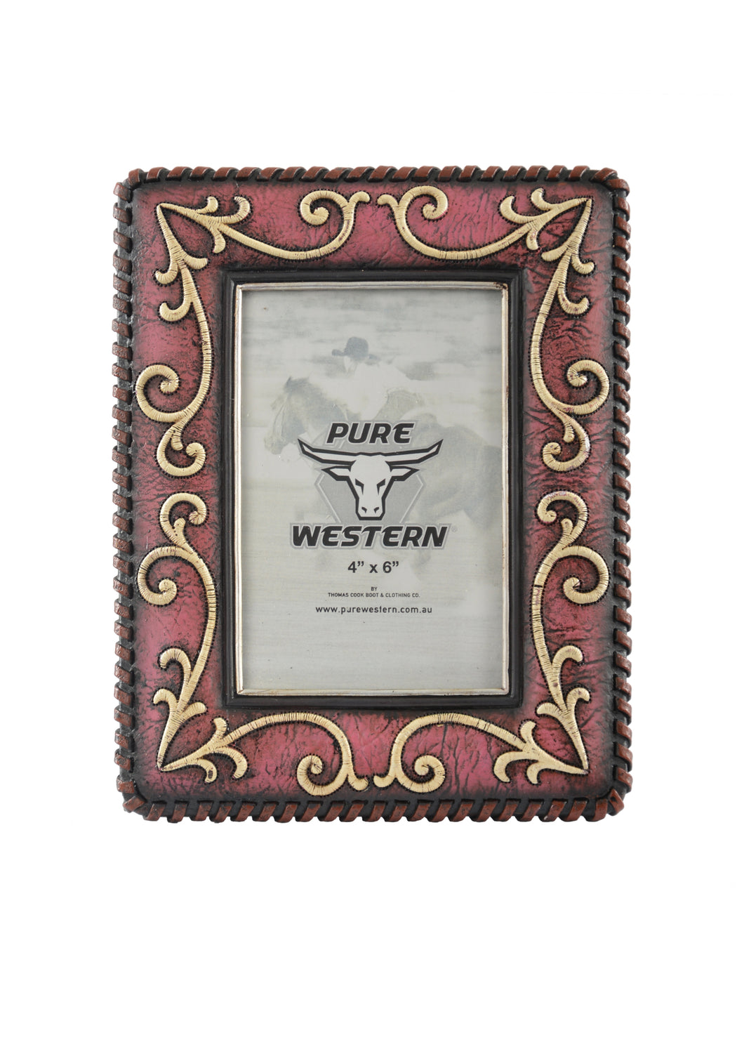 Rose Scroll Picture Frame ~ By Pure Western