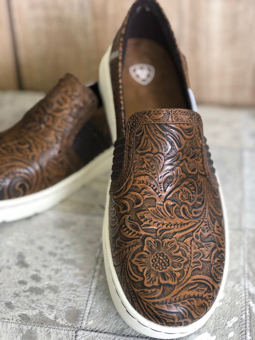 Floral Emboss Ryder ~ By Ariat