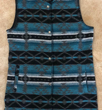 The Stockyard Vest ~ Turquoise