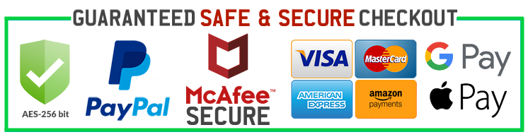 JoyHip.com Is Protected By McAfee Secure Accepts Amazon Apple Google Pay Paypal