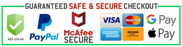 JoyHip.com Is Protected By McAfee Secure Accepts Amazon Apple Google Pay
