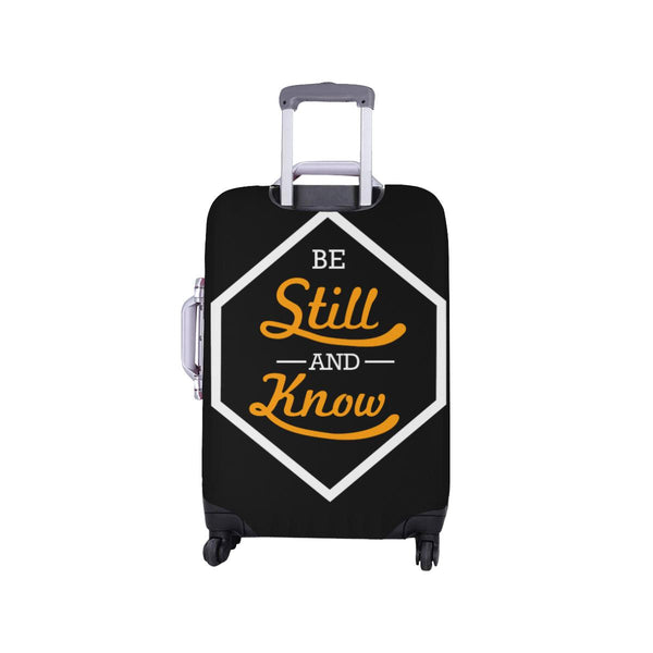Be Still & Know Christian Travel Luggage Cover Suitcase Protector Fits 18-28 Inch-JoyHip.Com