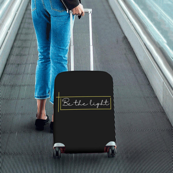 Be The Light Christian Travel Luggage Cover Suitcase Protector Fits 18-28 Inch-JoyHip.Com