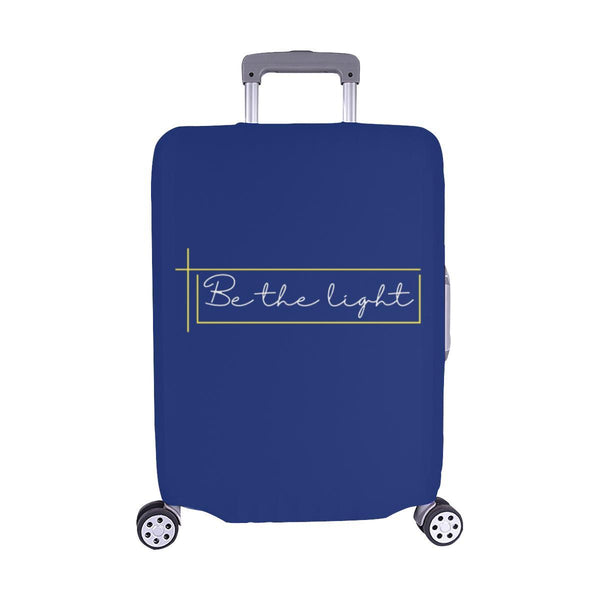 Be The Light Christian Travel Luggage Cover Suitcase Protector Fits 18-28 Inch-M-Navy-JoyHip.Com