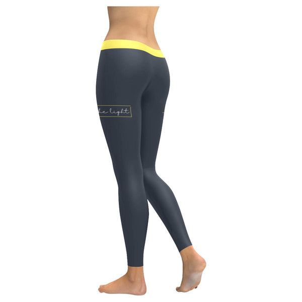 Be The Light Soft Leggings For Women Cool Cute Funny Christian Gift Religious-JoyHip.Com