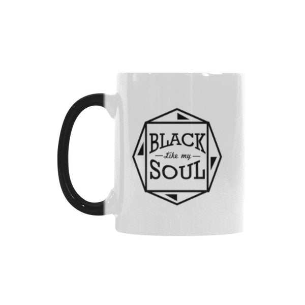 Black Like My Soul Humor Gag Funny Quotes Color Changing/Morphing 11oz Coffee Mug-Morphing Mug-One Size-JoyHip.Com