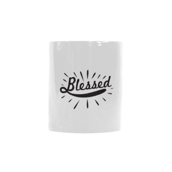 Blessed Christian Color Changing/Morphing 11oz Coffee Mug-Morphing Mug-One Size-JoyHip.Com