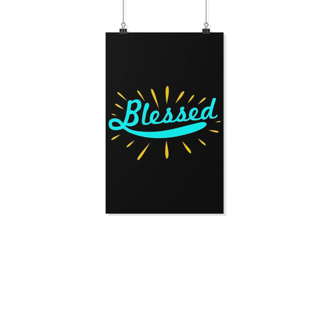 Blessed Christian Poster Wall Art Room Decor Gift Religious Spiritual Presents-Posters 2-11x17-JoyHip.Com