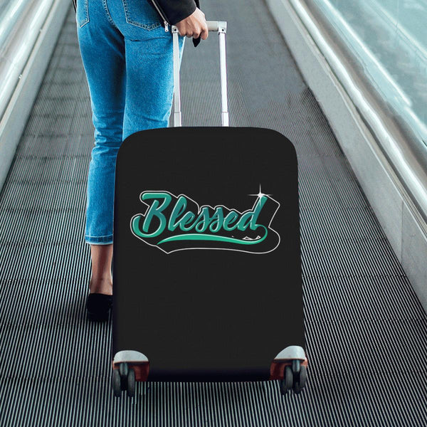 Blessed Christian Travel Luggage Cover Suitcase Protector Fit 18-28 Inch Baggage-JoyHip.Com