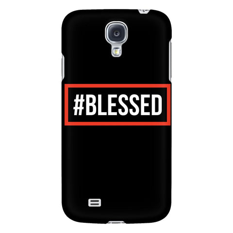 #Blessed iPhone 6/6s/7/7s/8 Plus Case Christian Bible Verses Inspirational Scripture Quote-Phone Cases-Galaxy S4-JoyHip.Com