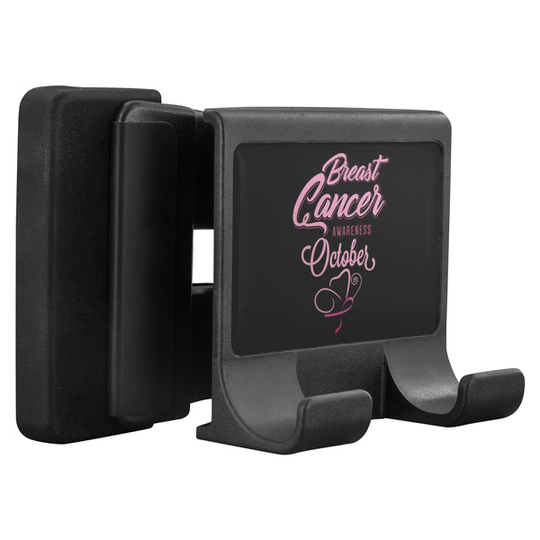 Breast Cancer Awareness Month October Phone Monitor Holder For Laptop Desktop-Moniclip-Moniclip-JoyHip.Com