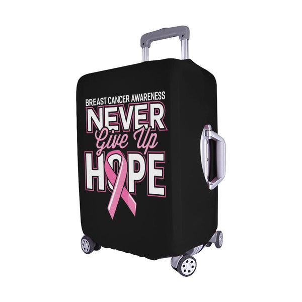 Breast Cancer Awareness Never Give Up Hope Travel Luggage Cover Protector Gifts-JoyHip.Com