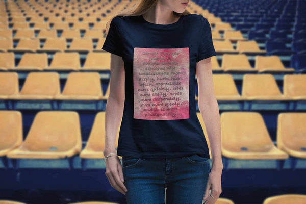 Breast Cancer Changes People Understand More Deeply Cool Gift Ideas Women TShirt-T-shirt-JoyHip.Com