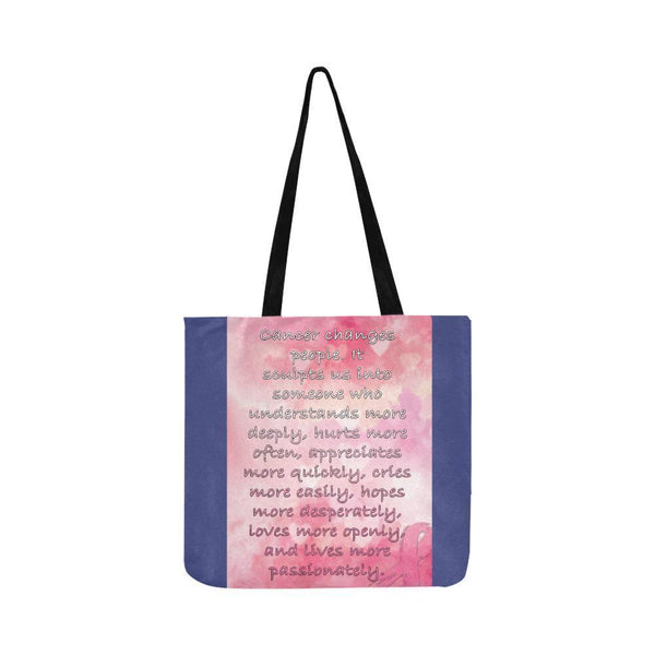 Cancer Changes People Loves Openly Breast Cancer Grocery Reusable Produce Bags-One Size-Orchid-JoyHip.Com