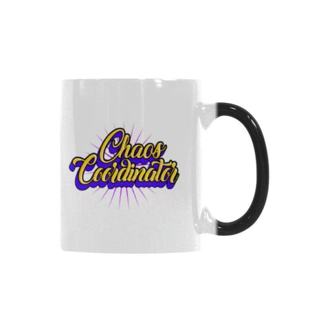 Chaos Coordinator Teacher Color Changing/Morphing 11oz Coffee Mug-Morphing Mug-One Size-JoyHip.Com