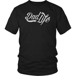 Dad Life Awesome Papa Cool Papi Awesome Funny Fathers Gift Idea TShirt-T-shirt-District Unisex Shirt-Black-JoyHip.Com
