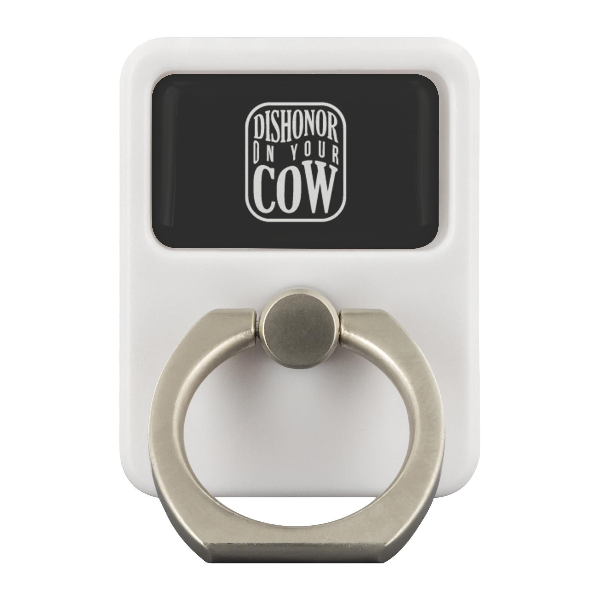 Dishonor On Your Cow Funny Phone Ring Holder Kickstand Humor Gift Gag Sarcasm-Ringr - Multi-Tool Accessory-Ringr - Multi-Tool Accessory-JoyHip.Com