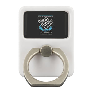 Dont Get Caught Behind The 8 Ball Get Checked Prostate Cancer Phone Ring Holder-Ringr - Multi-Tool Accessory-Ringr - Multi-Tool Accessory-JoyHip.Com