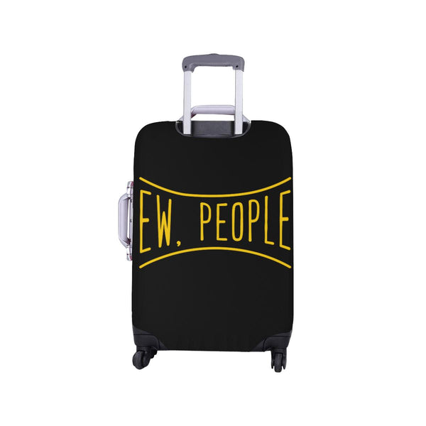 Ew People Funny Sarcasm Sarcastic Travel Luggage Cover Suitcase Protector-JoyHip.Com
