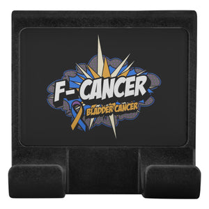 F-Cancer Bladder Cancer Awareness Phone Monitor Holder For Laptop Desktop Gifts-Moniclip-Moniclip-JoyHip.Com
