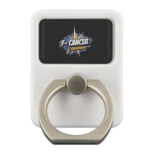F-Cancer Bladder Cancer Awareness Phone Ring Holder Kickstand Gifts Idea-Ringr - Multi-Tool Accessory-Ringr - Multi-Tool Accessory-JoyHip.Com