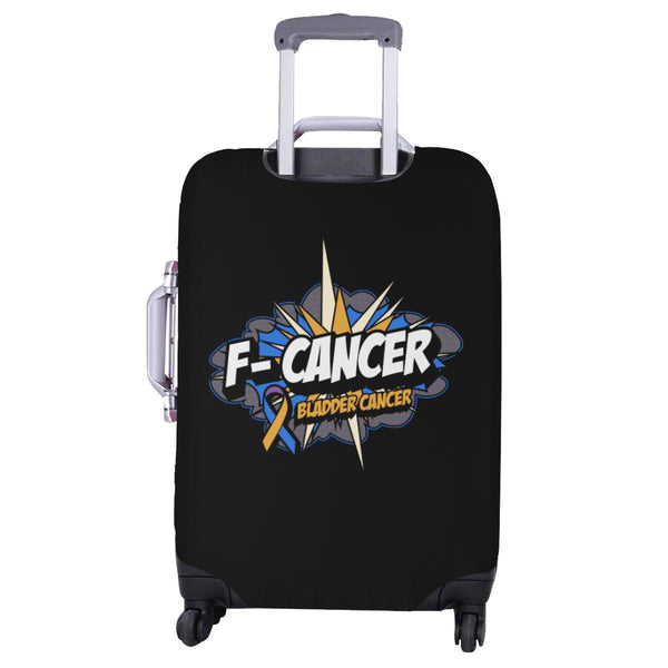 F-Cancer Bladder Cancer Travel Luggage Cover Suitcase Protector Baggage Gift-JoyHip.Com