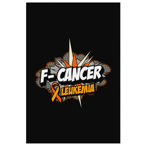 F-Cancer Cute Bladder Cancer Awareness Canvas Wall Art Room Decor Home Gift Idea-Canvas Wall Art 2-8 x 12-JoyHip.Com