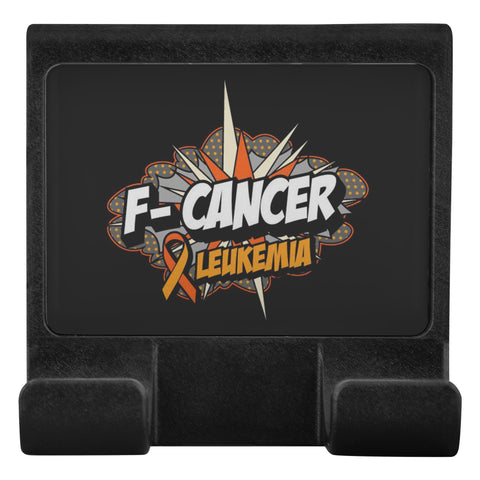 F-Cancer Leukemia Cancer Awareness Phone Monitor Holder For Laptop Desktop Gifts-Moniclip-Moniclip-JoyHip.Com