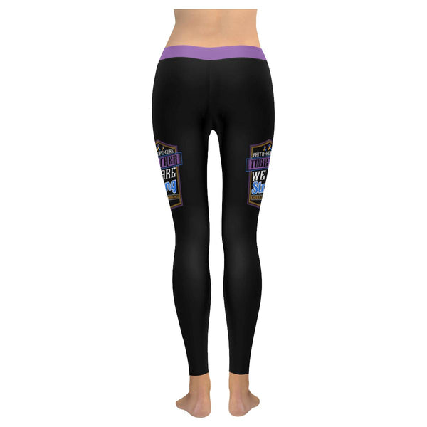 Faith Hope Cure Together We Are Strong Bladder Cancer Soft Leggings For Women-JoyHip.Com
