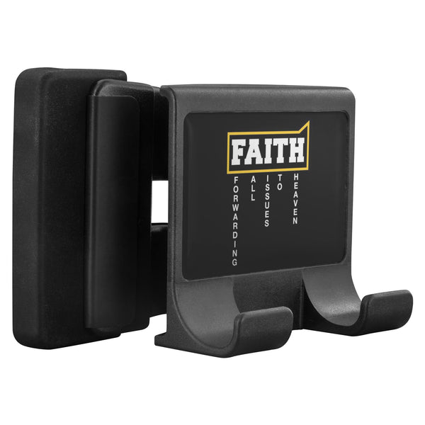 Faith=Forwarding All Issues To Heaven Christian Cell Phone Monitor Holder Laptop-Moniclip-Moniclip-JoyHip.Com