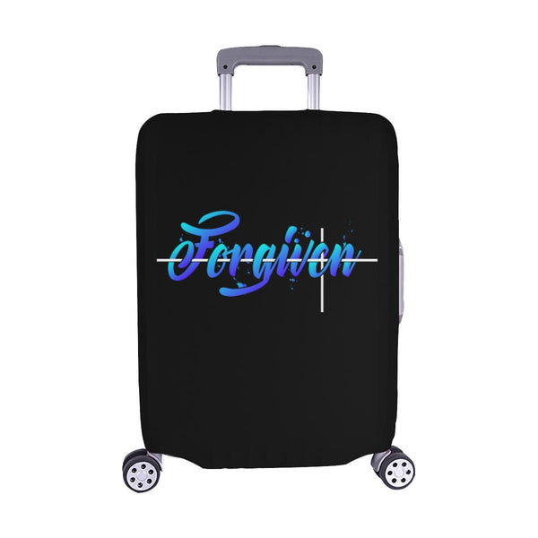 Forgiven Christian Travel Luggage Cover Suitcase Protector Fits 18-28 Inch-M-Black-JoyHip.Com