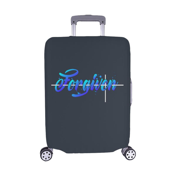 Forgiven Christian Travel Luggage Cover Suitcase Protector Fits 18-28 Inch-M-Grey-JoyHip.Com