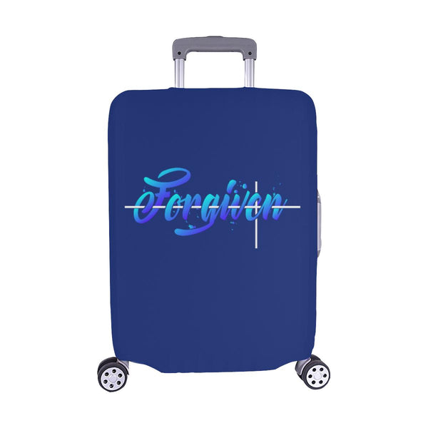 Forgiven Christian Travel Luggage Cover Suitcase Protector Fits 18-28 Inch-M-Navy-JoyHip.Com