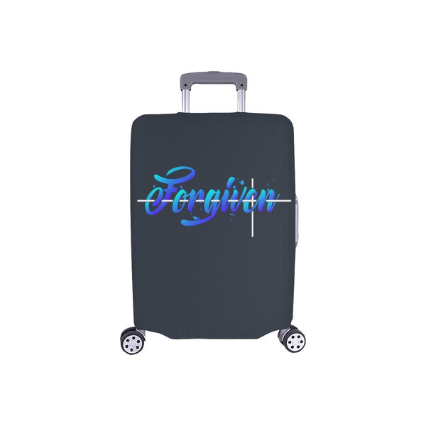 Forgiven Christian Travel Luggage Cover Suitcase Protector Fits 18-28 Inch-S-Grey-JoyHip.Com