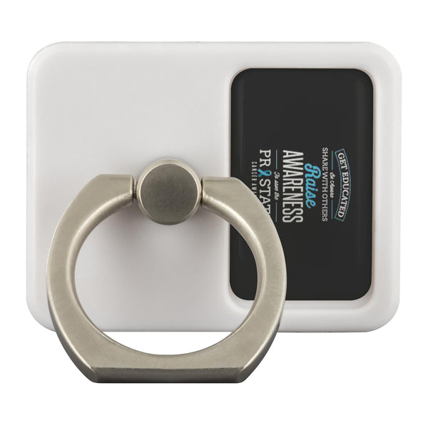 Get Educated Aware Share With Others Raise Awareness Prostate Phone Ring Holder-Ringr - Multi-Tool Accessory-Ringr - Multi-Tool Accessory-JoyHip.Com