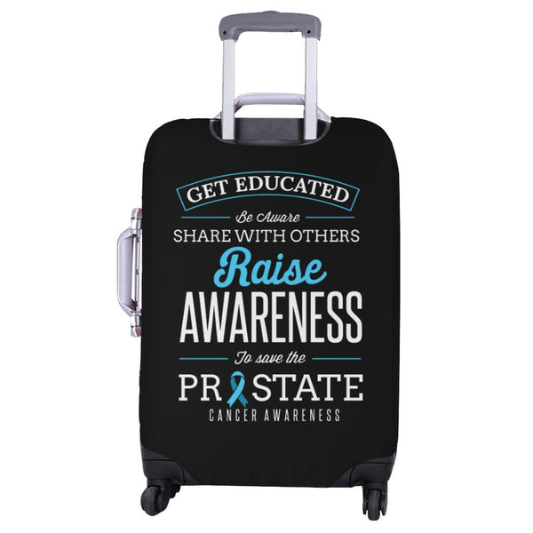 Get Educated Be Aware Raise Awareness Save Prostate Travel Luggage Cover-JoyHip.Com