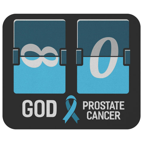 God Infinity VS Prostate Cancer Zero Mouse Pad Gifts Ideas Unique Desk MousePad-Mousepads-Black-JoyHip.Com