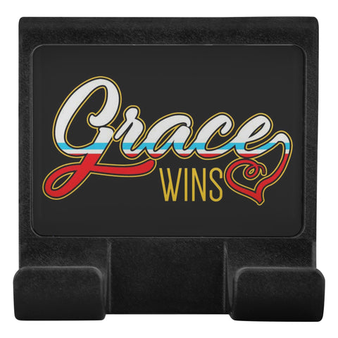 Grace Wins Christian Cell Phone Monitor Holder For Laptop Or Desktop Display-Moniclip-Moniclip-JoyHip.Com