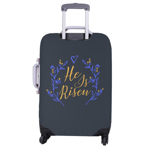He Is Risen Christian Travel Luggage Cover Suitcase Protector Fits 18-28 Inch-JoyHip.Com