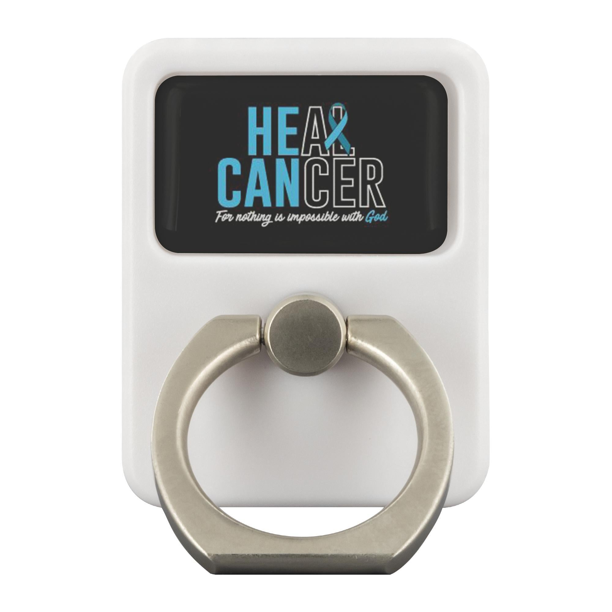 Heal Cancer For Nothing Is Impossible With God Phone Ring Holder Kickstand Gifts-Ringr - Multi-Tool Accessory-Ringr - Multi-Tool Accessory-JoyHip.Com