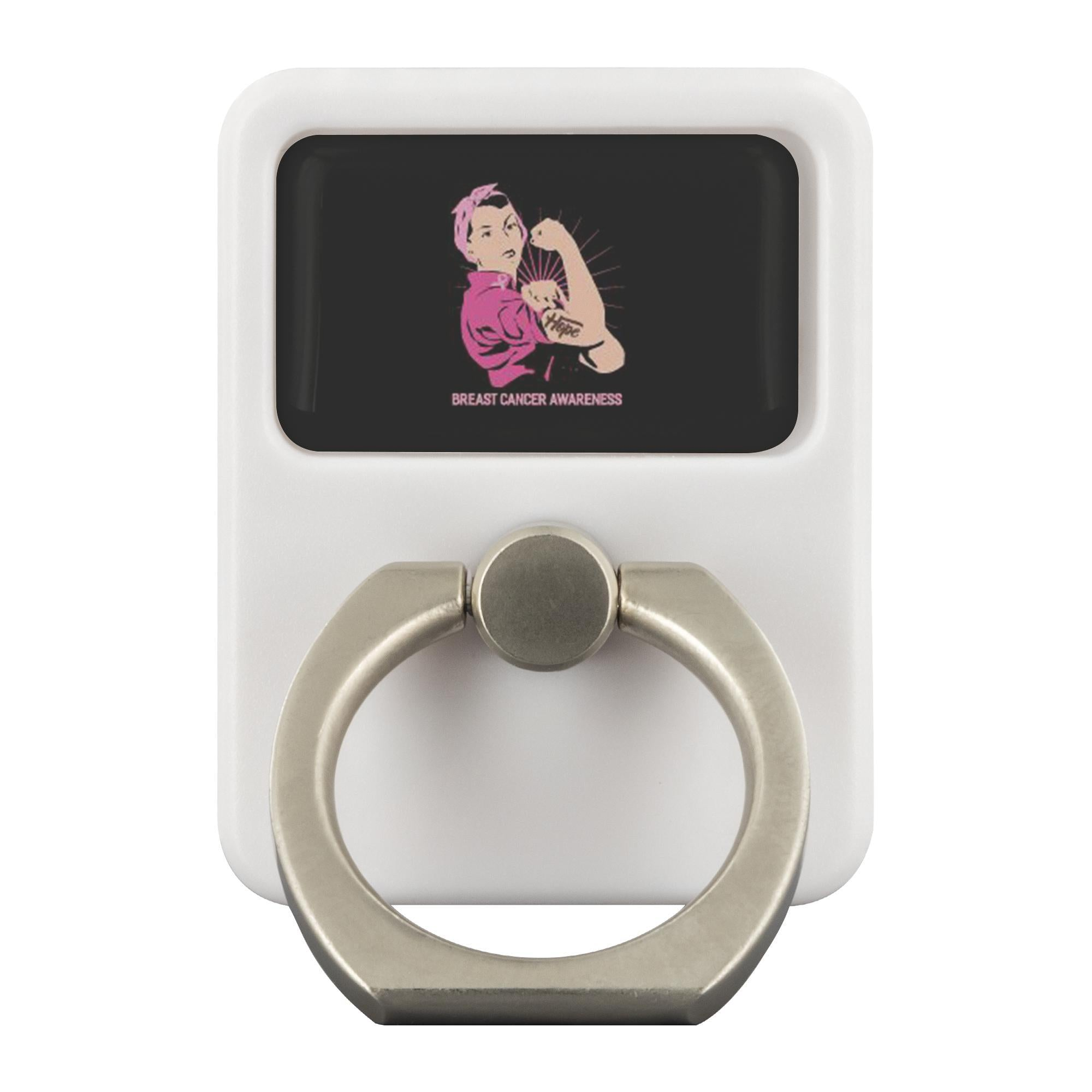 Hope Breast Cancer Awareness Phone Ring Holder Kickstand Gifts Idea-Ringr - Multi-Tool Accessory-Ringr - Multi-Tool Accessory-JoyHip.Com
